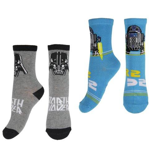 (6 - 8.5) Star Wars Socks - Pack of 2