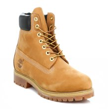 Timberland Mens Wheat Premium Classic 6 inch Nubuck Leather Ankle Boots