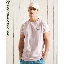 Superdry Orange Label Vintage Embroidered T-Shirt - Chalk Pink Feeder