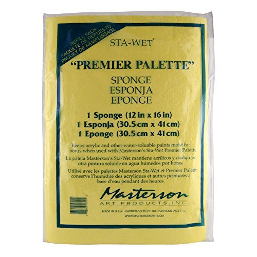 MASTERSON ART PRODUCTS 105.51 Palette Seal Sponge Refil for 100