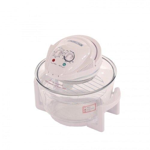 Oypla 12L Litre White Portable Halogen Convection Oven Cooker 1400w
