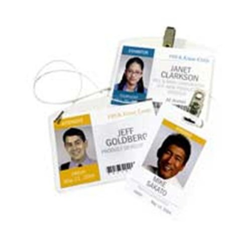 Consumer Products  Clip Style Badge Holder- Fits 3in.x4in. Badge-