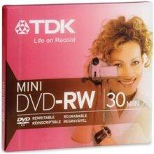 mini DVD-RW 1.4GB reWriteable