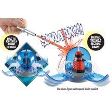 Doctor Who Cyberman vs Dalek strategist Temporal Blast Combat Set