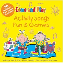Activity Songs & Fun and Games - Used