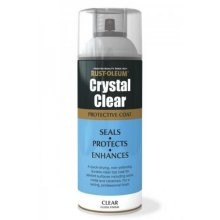 Rust-Oleum AE0040001E8 Crystal Clear Gloss Protective Top Coat 400ml
