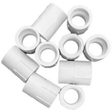 Genova Products 30305CP 1/2-Inch Female Iron Pipe Thread PVC Pipe Adapter Slip by Female Iron Pipe Thread - 10 Pack