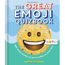 The Great Emoji Quizbook - Used
