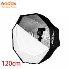 Godox 120cm 47in Portable Octagon Softbox Umbrella for Speedlite Flash