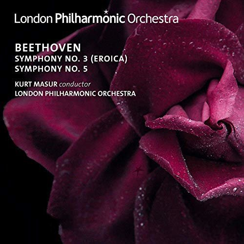 LONDON PHILHARMONIC ORCHESTRA KURT MASUR - BEETHOVEN: SYMPHONIES NOS. 3 and 5 [CD]