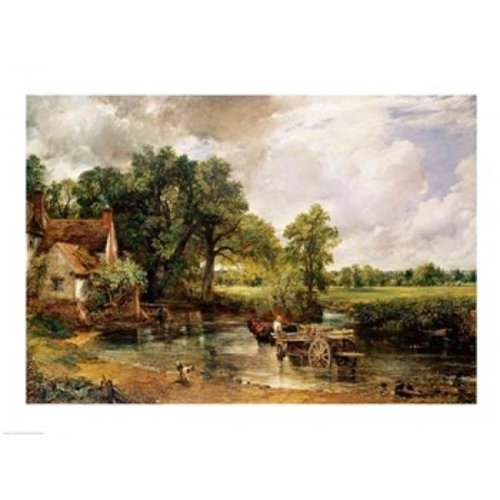 The Hay Wain 1821 Poster Print by John Constable - 24 x 18 in.