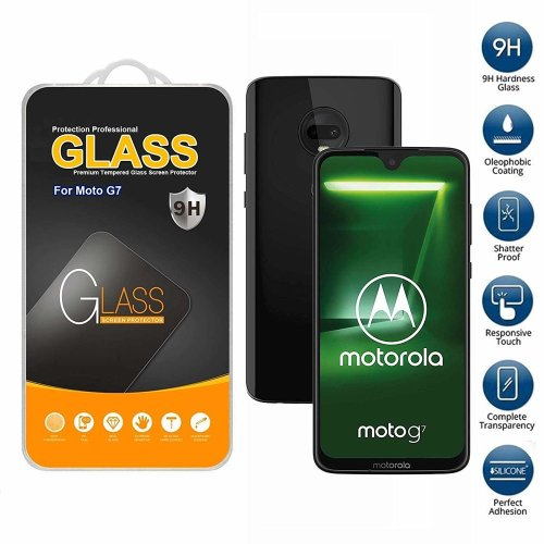 Screen Protector Tempered Glass For Motorola G7