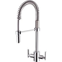 Bristan AR SNKPRO C Artisan Professional Kitchen Sink Mixer Tap with Pull Out Hose, Chrome