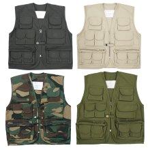 New Kids Multi Pocket Waistcoat Vest Army Uniform