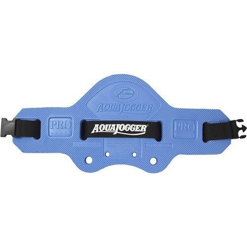 AquaJogger Classic PRO Aqua Jogger Belt with DVD and Workout Guide Adjustable 48 Inch Flotation Belt Blue 86486