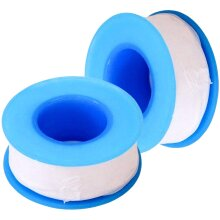 WIFUN 2 Rolls Thread Tape, PTFE Thread Seal Tape Plumbers Tape Pipe Sealant Tape for Plumbing Pipes Joint Thread Pipes (15 Meters)