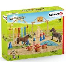 Schleich 42481 Farm World Pony Agility Training