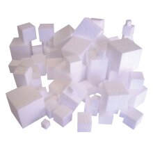 Major Brushes Polystyrene Cubes
