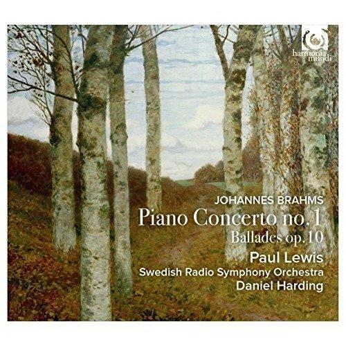Paul Lewis and Daniel Harding - Piano Concerto No.1 [CD]