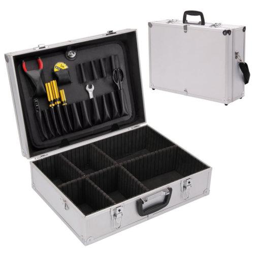 Aluminium Flight Case storage Toolbox Portable joiners Electricians Tool Box UK