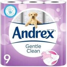 45pk Andrex Gentle Clean Toilet Tissue