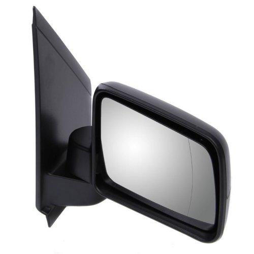 Ford Transit Connect Van 2009-2013 Manual Black Wing Door Mirror Drivers Side