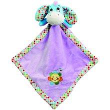 Rainbow Designs Disney Winnie the Pooh Good Morning Eeyore Baby Comforter 33cm