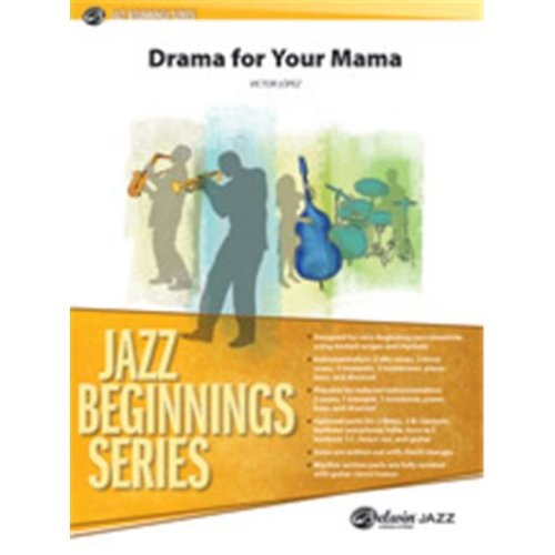 Alfred 00-26853 DRAMA FOR YOUR MAMA-JBS