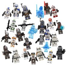 Star Wars Clone Wars Fit Lego Minifigures Jesse Rex Cody Toy Collection