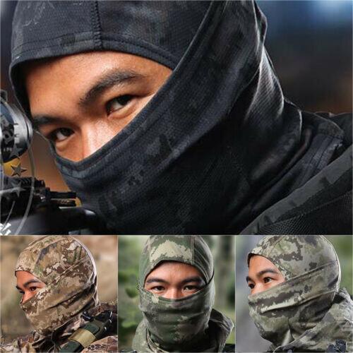 Camouflage Balaclava Full Face Mask Cycling Motorcycle Combat Tube Cap Headwear