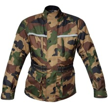 Warrior Motorcycle Jacket Camouflage Waterproof Breathable CE Protection Biker Jacket for men