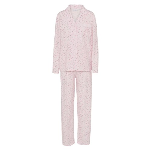 Slenderella PJ7104 Women's Ditsy Pink Floral Pajama Pyjama Set