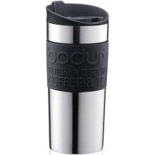 Bodum  Vacuum Travel Mug, Stainless Steel, 0.35L in Black