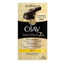 Olay Total Effects 7 in One Moisturiser + Touch Of Sunshine SPF12 - 50ml
