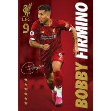 Liverpool FC Signature Firmino Poster