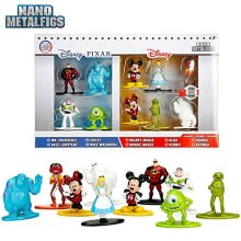 Nano Metalfigs Disney Pixar 10 Pack Mickey Minnie Lightyear