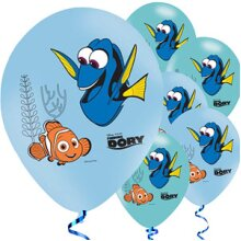 Finding Dory Latex Balloons 6pk