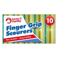 10x Scourers - Finger Grip Scourers
