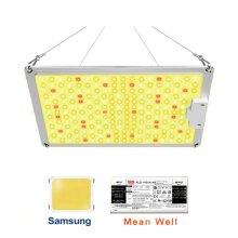 Litgrow QB-1000 LED Grow Light with High-Efficiency Samsung LM301B & Mean Well Driver, 110W Sunlike Full Spectrum LED Panel Grow Lights
