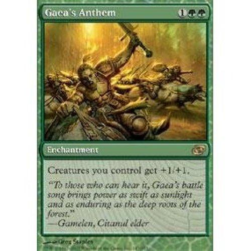 Magic the Gathering Gaea s Anthem Planar Chaos Foil