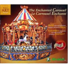 Carousel the Enchanted Carousel KIT By Built Art Collection