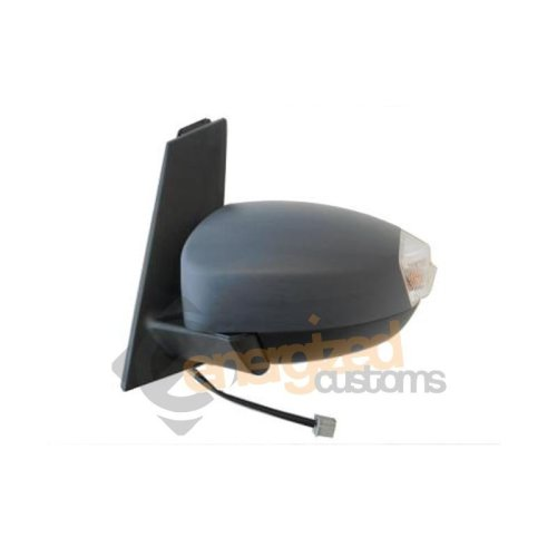 Ford C-max Mk2 9/2010-> Electric Wing Door Mirror Primed Cover Passenger Side