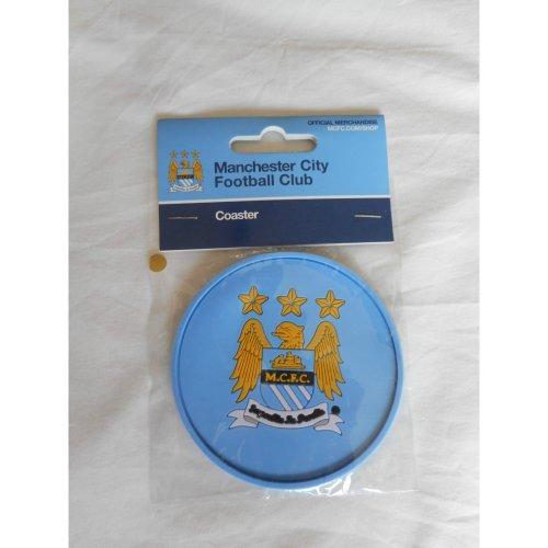 Man City Coaster - Manchester City Rubber Coaster