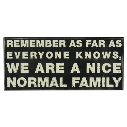 Primitives Box Sign - Nice Normal Family