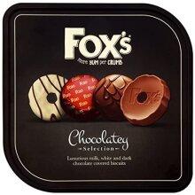 Fox's more yum per crumb Chocolatey  biscuits (2 tins)