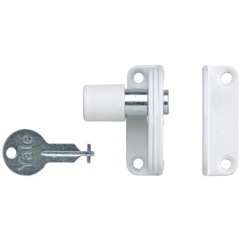 Yale Locks P123WE Sash Window Presslock White