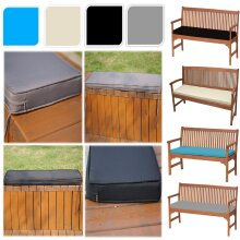 Garden Bench Pad Outdoor Waterproof Fabric 2 Seater Furniture Swing Seat Cushion