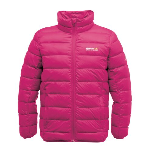 """(34"""" Chest, Jem Pink) Regatta Junior Iceway Kids Down Filled Jacket"""