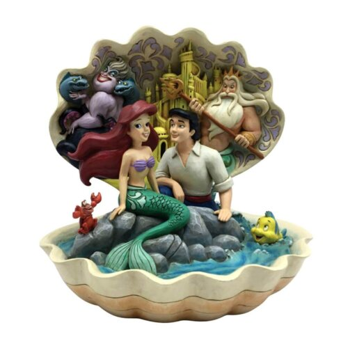 Disney Seashell Scenario The Little Mermaid Shell Scene Figurine