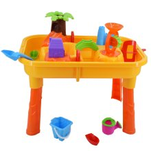 deAO Sand & Water Table Set   Table & Accessories for Toddlers